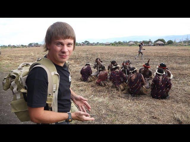 Индонезия Традиции и быт первобытных аборигенов 7 серия 1080p HD Мир Наизнанку 5 сезон