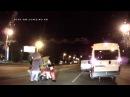 Микки Маус, Губка Боб, Лунтик и Белка избили водителя