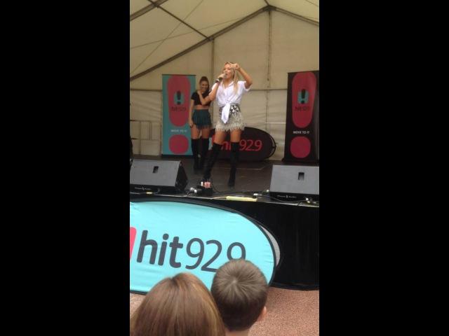 Samantha Jade Shake That Up Live at Watertown Shopping Centre 2015