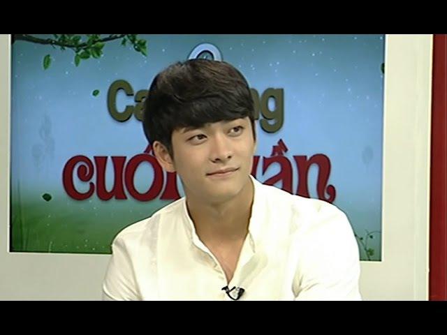 150913 VTV3 Cafe sáng cuối tuần Kang Tae Oh Nhã Phương