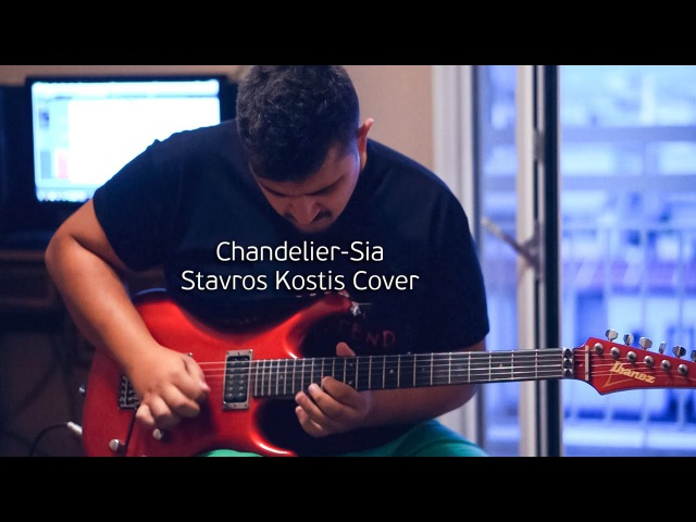 Chandelier Sia Guitar cover by Stavros Kostis