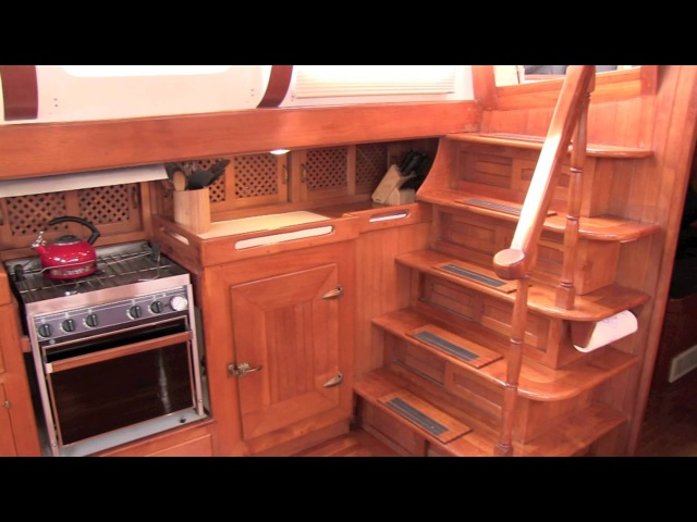 1982 Formosa 51 Pilothouse Motorsailer by NW Yachtnet SOLD