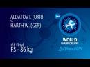 1 8 FS 86 kg I ALDATOV UKR df W HARTH GER by TF 10 0