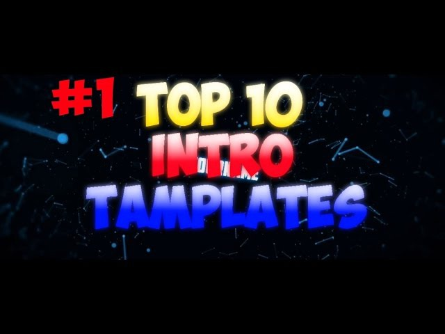 Top 10 intro Template SonyVegasPro 1 Free Download