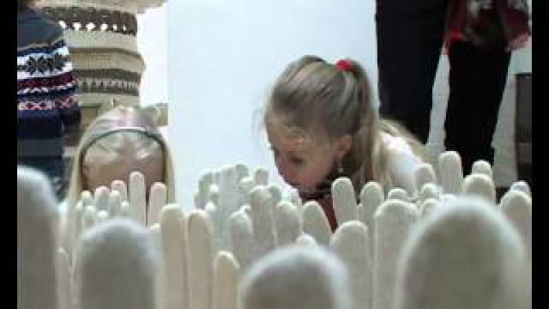 Cimdu izstāde Madonas muzejā