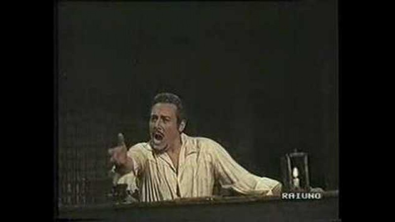 Mario del Monaco Sings E Lucevan Le Stelle from Tosca