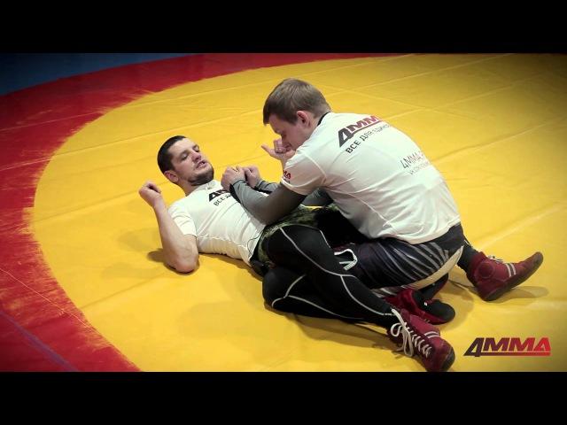 Школа боевого самбо с Игорем Исайкиным и 4MMA болевые и удушающие приемы в партере