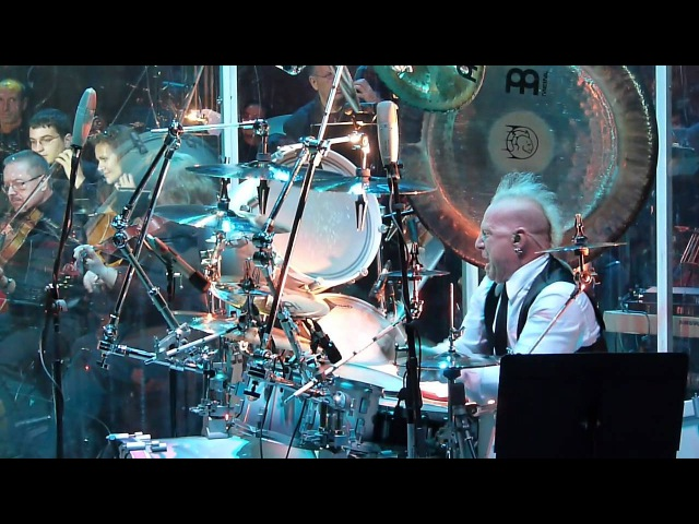 Mike Terrana - New World Symphony @ Plovdiv -Beauty and the Beat concert with Tarja Turunen