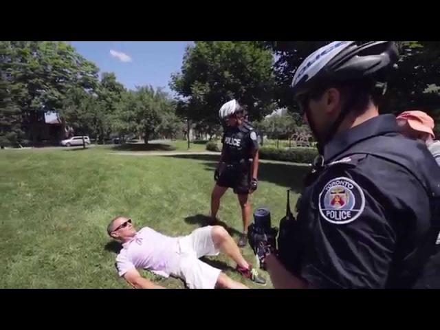 Полиция Торонто говорит по русски 7 Toronto police speaks Russian 7
