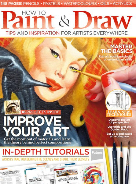 How to Paint and Draw - 2015  UK vk.com