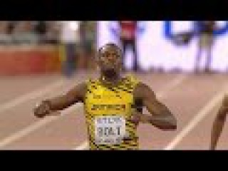 Usain Bolt beats Justin Gatlin 200m Final - IAAF WC Beijing 2015