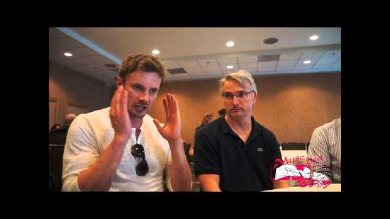 Bradley James and Glen Mazzara talk Damien at SDCC15