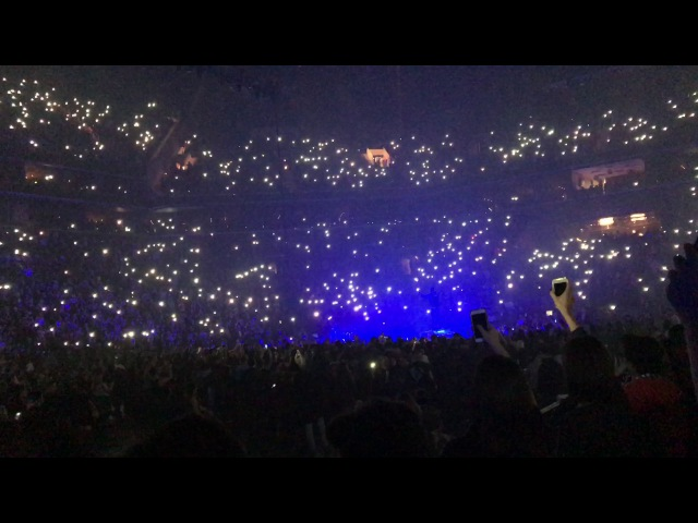 Twenty one pilots B stage Ode to Sleep AWAP Cancer Barclays Center Brooklyn NY 1 20 17