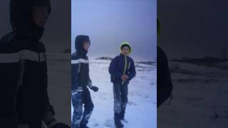 Кльові прикольні сальто в сніг