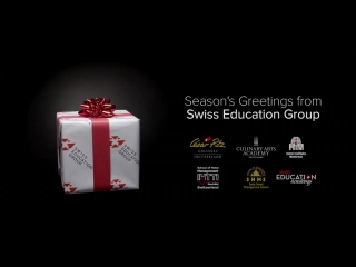 Merry christmas and a happy new year from swiss education group!