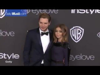 In the navy together! sarah hyland boyfriend dominic sherwood daily mail online