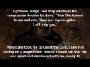 Fail to confess her sin ,and she was saved by the mother of God BECAUSE...