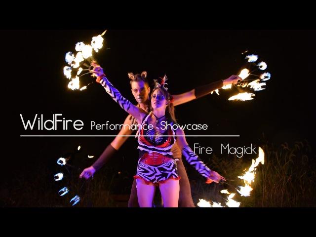 Fire Magick — Fire Fans — WildFire Performance Showcase