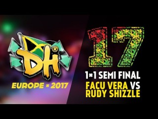 DHI EUROPE 2017 - 1VS1 PRO SEMI-FINAL - FACU (WIN) VS RUDY SHIZZLE