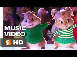 """Alvin and the Chipmunks: The Road Chip - Redfoo Music Video - """"Juicy Wiggle"""" (2015) HD"""