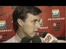 Flamengo anunciando o novo técnico