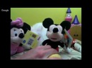 Disney plush toys mickey mouse and minney mouse live 20160322-10 Видео Игры Микки Маус