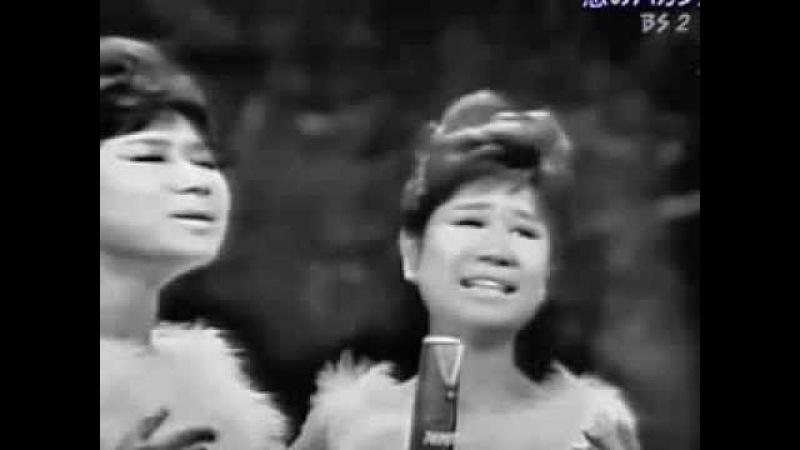 у Моря, У СИНЕГО МОРЯ! - история японской песни в исполнении дуэта The Peanuts 1963 г