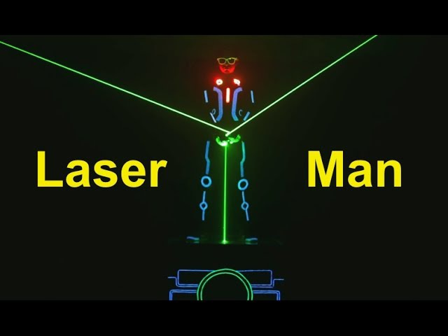 Laser Man Show Laser Fight Tron Dance Show India Skeleton Dance Crew