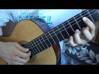Простая,но красивая мелодия (Романс Гомеса) (Видеоурок)
