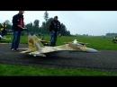 R C turbine Jet Sukhoi SU 27 JetCat P180 RX Hausen Modellflug Show 2014 Switzerland