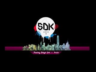 "SDK Asia 2015 Popping Judge Solo - Hozin ""Organized by Jamcityhk Limited"