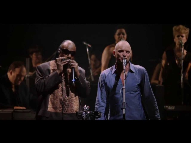 Sting with Stevie Wonder Brand New Day Sting 60th Birthday