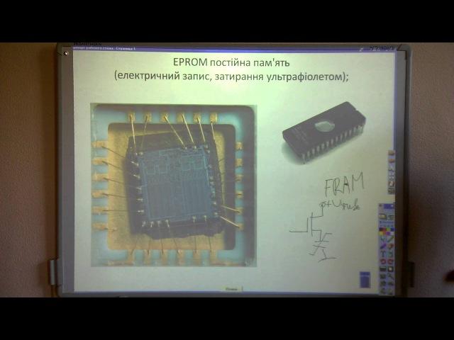 Лекція 21 2 Методи запису видалення електронів з плаваючого затвору EPROM постійна пам'ять
