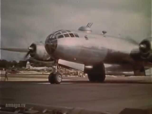 B 29 Raid With P 51 Escort