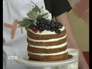 """Завтрак на """"УтроТВ"""": украшаем свадебный торт ()"""