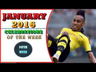 Best Goals Celebrations of the week #5 - TOP 10 -  January 2016