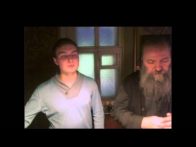 Херувимская песнь - Знаменный распев с исоном / Cherubic Hymn - Znamenny chant with ison