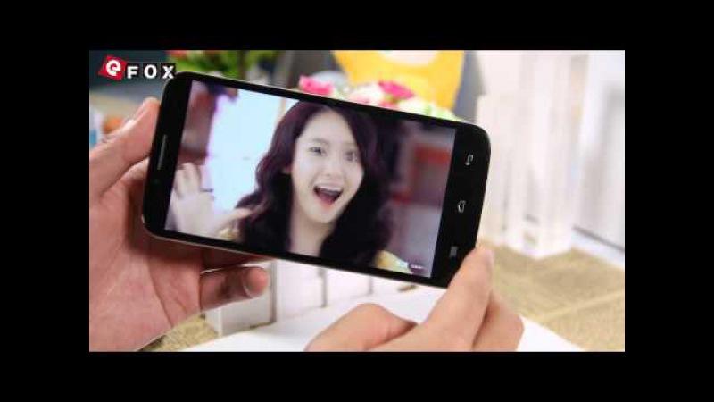 Desembalaje vídeo de Smartphone TCL M2U MTK6752M 64bit Octa Core 5.5 Pulgadas
