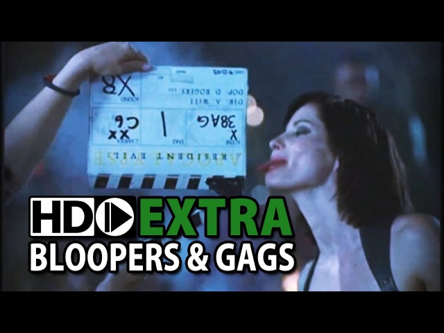 Resident Evil Apocalypse 2004 Bloopers Outtakes Gag Reel