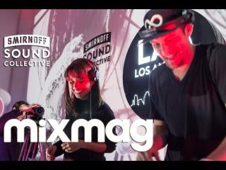 LUPE FUENTES b2b JACK COUSTEAU tech house DJ set in The Lab LA