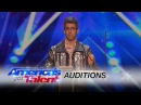Jon Bernhardt: Statistician Covers The Clash With a Theremin - America's Got Talent 2016 Auditions
