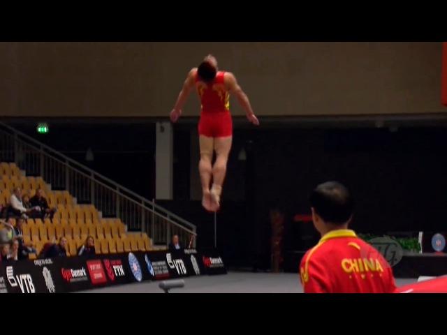 ЧМ по прыжкам на акробатической дорожке 2015 команды мужчины