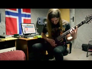 Jinjer - Sit Stay Roll Over covered by D. Kenda on Caparison Dellinger 7 M3