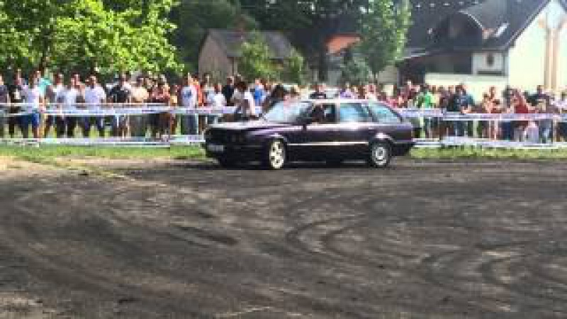 10. BMW Feszt BMW E30 TOURING PACI Burnout Drift ar na Soltvadkert BMW Fest 2014 06 13 15