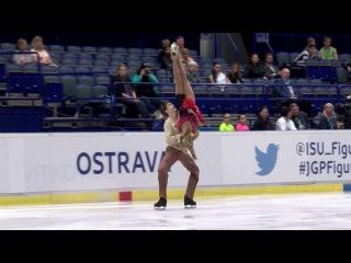 2016 ISU Junior Grand Prix - Ostrava - Free Dance Arina USHAKOVA / Maxim NEKRASOV RUS
