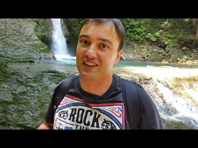 Руслан Гугкаев путеводитель по Осетии Суадагский водопад и пещера
