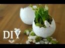 DIY Hübsche Oster Deko Vasen einfach selber machen Deko Kitchen