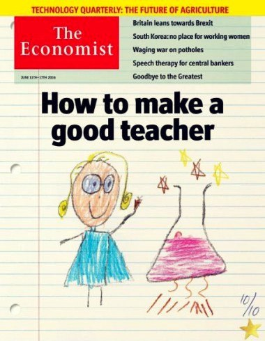 The Economist - 11 June 2016 {{ERTB}}