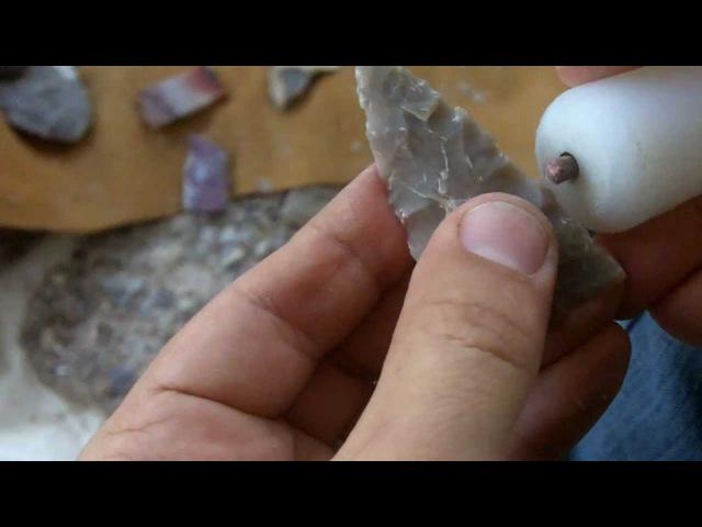 103 4 9 Beginner Flintknapping Stone Arrowhead for Hunting