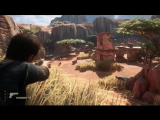 UNCHARTED 4 A Thiefs End - 18 минут нового геймплея !